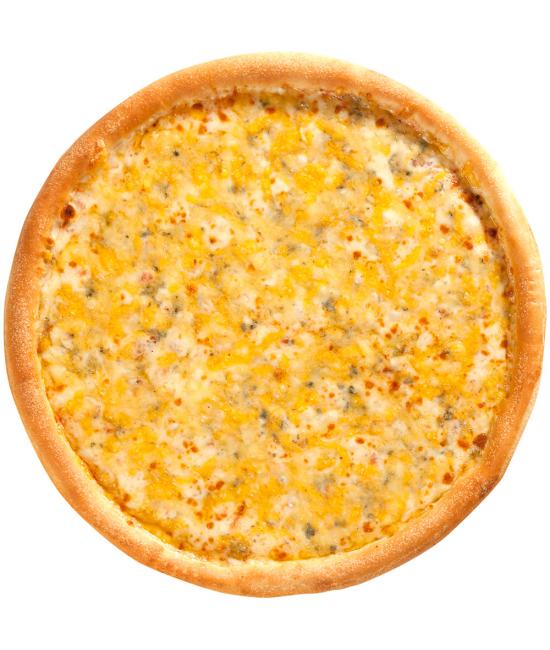 Пицца 4 сыра с фруктами